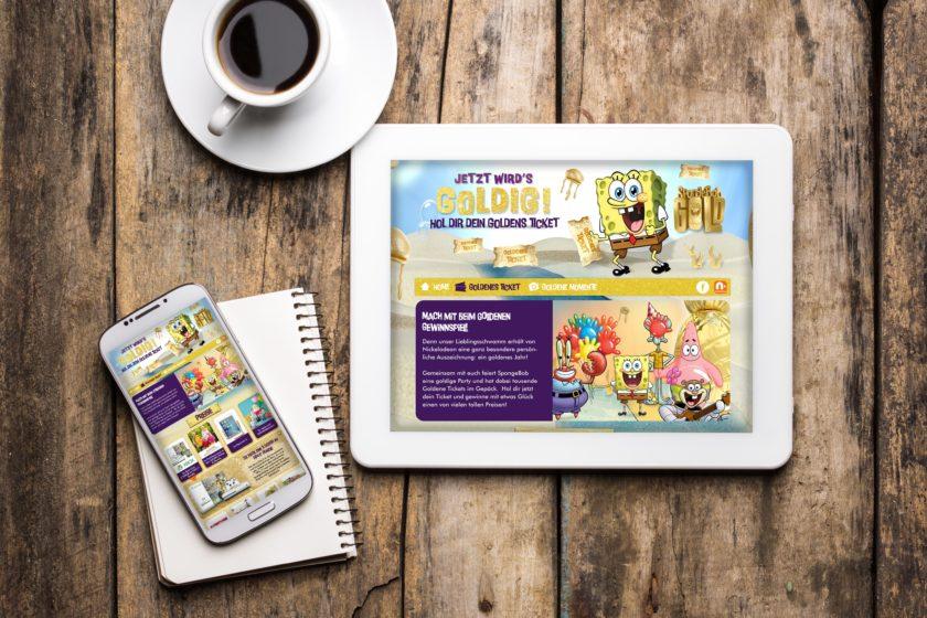 Nickelodeon SpongeBob Gold 2017